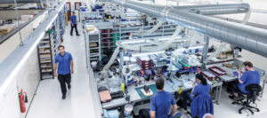 Electronic security systems for factories and institutions